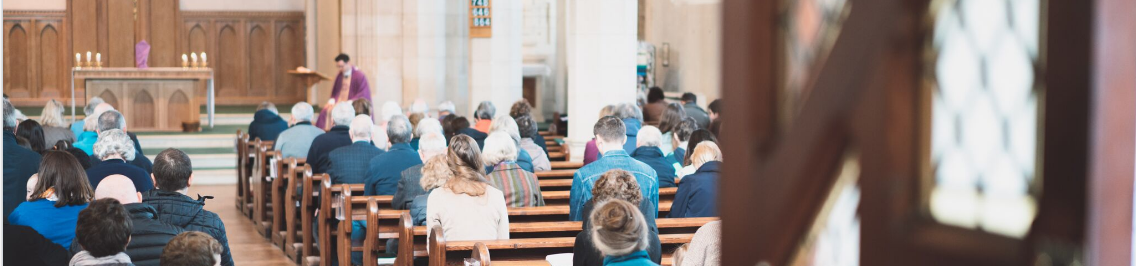 father tom delivers sermon to parish